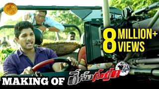 Making of Race Gurram | Allu Arjun | Shruti Haasan | Surender Reddy