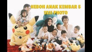 Video Heboh anak kembar 5  sesi photo di kantor Datascrip Jakarta MP3, 3GP, MP4, WEBM, AVI, FLV Januari 2018