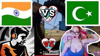Dynamo Gaming Vs Pakistani Gamer   Indian PUBG Gamer Vs Pakistani PUBG Player   PUBG Mobile