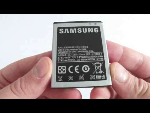 Samsung Galaxy R - unboxing
