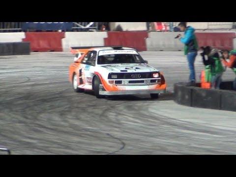 Budapest Rally 2013: Beres na prologu w Audi Quattro