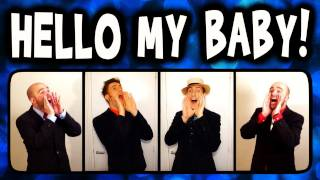 Video Hello My Baby (Frog Song) - A Cappella Barbershop Quartet (Trudbol & SgtSonny) MP3, 3GP, MP4, WEBM, AVI, FLV Juli 2018