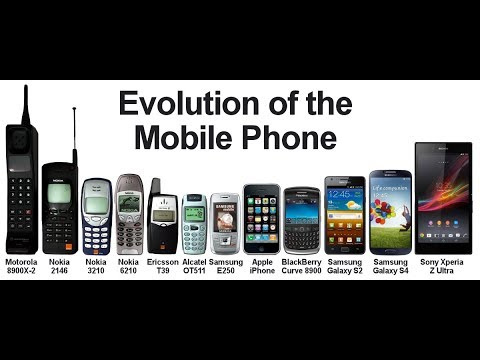 The Evolution Of Mobile Phones - History Of Mobile Phones (1983-2017)