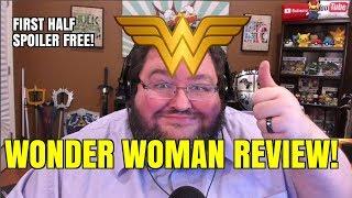 1/2 SPOILER FREE! WONDER WOMAN REVIEW