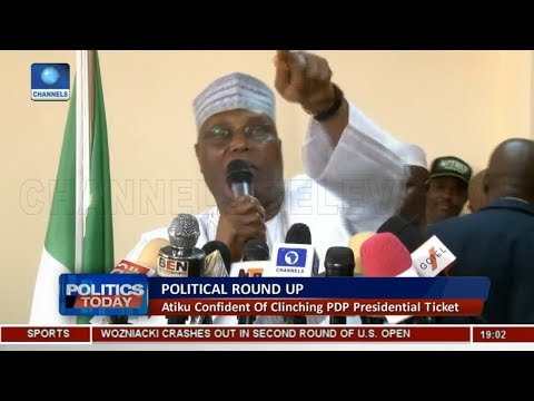 Atiku Confident Of Clinching PDP Presidential Ticket |Politics Today|