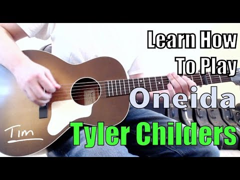 Tyler Childers Oneida Guitar Lesson, Chords, and Tutorial