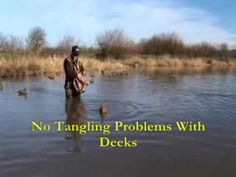(Duck Hunting)  with (Deeks) the Perfect (Duck Decoys) for a (Duck hunter)