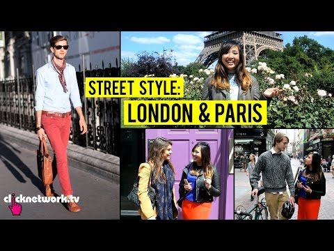 Paris - Jem hits the streets of London and Paris to see what people are wearing! Visit our channel for more videos http://youtube.com/clicknetworktv Website http://clicknetwork.tv Download the clicknetwor...