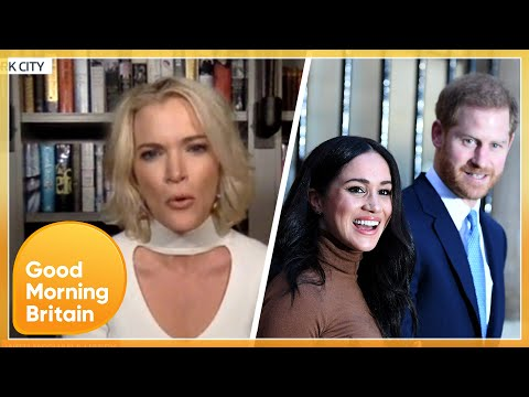 Megyn Kelly Has an 'Unsympathetic' View of Prince Harry and Meghan's Pleads for Protection | GMB