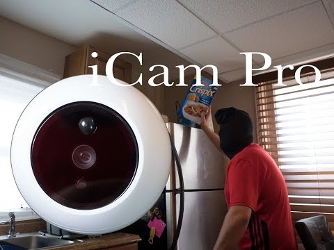 iCam Pro FHD - Your Home Security Robot