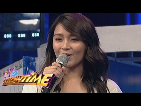 """It's Showtime: Kathryn promotes """"Barcelona: A Love Untold"""""""