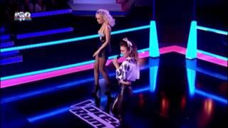 Florentina & Maria-Man down (Rihanna Taraf version)-Vocea Romaniei 2014-Confruntari 1-Editia 8