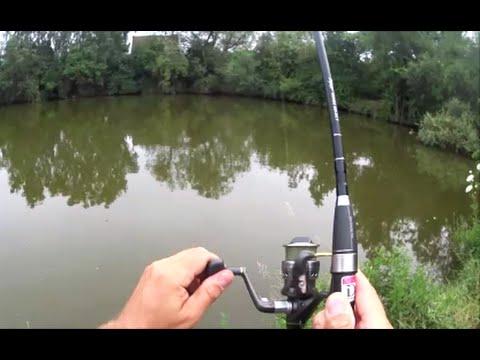 Lov štik - záběr na streamera