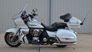 4. 2013 Kawasaki Vulcan 1700 Voyager ABS Kact  Overview and Review  For Sale $15,999