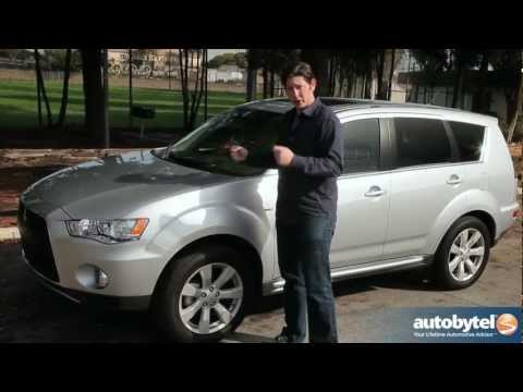 2012 Mitsubishi Outlander: Video Road Test and Review