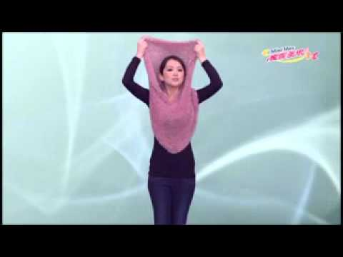 MiniMax Scarf (Made In Taiwan) 2011 TRENDS.flv