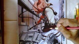 Drawing Eren Jaeger (Attack On Titan)