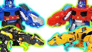 Video Transformers Rescue Bots transform dinosaurs Optimus Prime, Bumblebee! Go! - DuDuPopTOY MP3, 3GP, MP4, WEBM, AVI, FLV Maret 2018