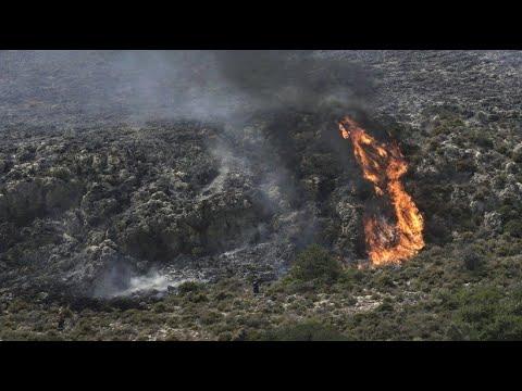 Griechenland: Mehr als 50 Waldbrände in mehreren Landesteilen