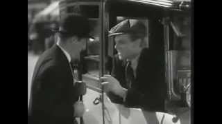 In this scene from TAXI! (1932), cabbie James Cagney helps a confused cop (Robert Emmett O'Connor) deal with an agitated Jewish man speaking Yiddish.