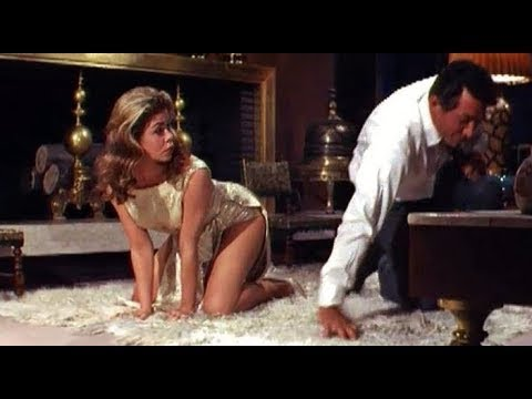 """""""WHO'S BEEN SLEEPING IN MY BED?"""" Dean Martin, Elizabeth Montgomery. 12-25-1963. (HD HQ 1080p)"""