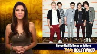 Harry y Niall Se Besan en la Boca!