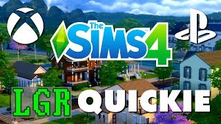 LGR - The Sims 4 Console Review (Xbox One, PS4)
