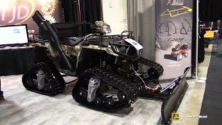 4. 2015 Polaris Sportsman 570 SP Hunter Edition with Track Kit - walkaround - 2014 Toronto ATV show