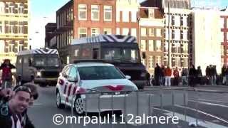Download Lagu Police to Fighting in the center of Amsterdam (Central Station) during King's Day 2015 Mp3