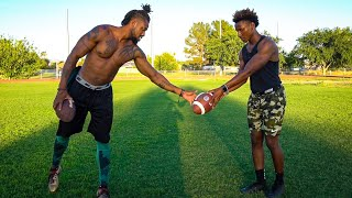 Video I GOT PRIVATE LESSONS FROM ONE OF THE GREATEST NFL PLAYERS EVER.. (HE TAUGHT ME SECRETS) MP3, 3GP, MP4, WEBM, AVI, FLV Juli 2019