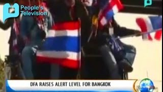 NewsLife - DFA Raises Alert Level For Bangkok Jan. 23 2014