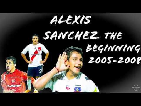 Alexis Sanchez • The Beginning • Goals, Skills & Assists • 2005-2008 • HD