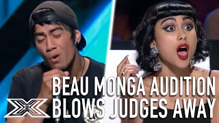 Video Beau Monga Audition 'Hit The Road Jack' Blows Judges Away | X Factor Global MP3, 3GP, MP4, WEBM, AVI, FLV Maret 2019