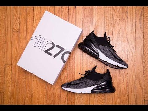Nike Air Max 270 Flyknit 'Oreo' Review