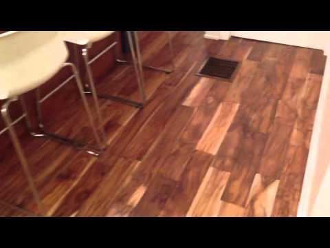 Floorama Flooring: Hand Scraped Small Leaf Acacia Hardwood Toronto