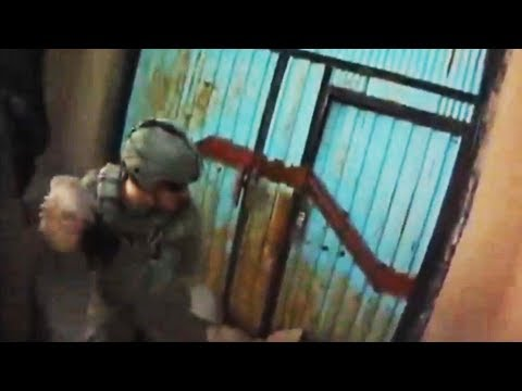 FUNKER530 - U.S. Soldiers kick down the door to a Taliban compound after being ambushed on patrol. Submit your footage here http://SendUs.com/FUNKER530 Join the FUNKER53...