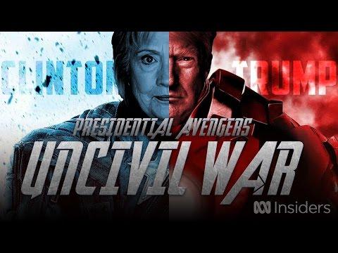 Presidential Avengers Uncivil War