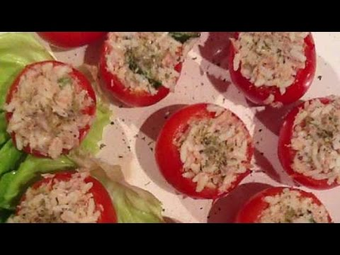 Prepare Delicious Tuna Stuffed Tomatoes - Food & Drinks - Guidecentral