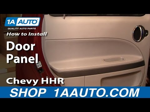 How To Install Replace Rear Door Panel Chevy HHR 06-10 1AAuto.com