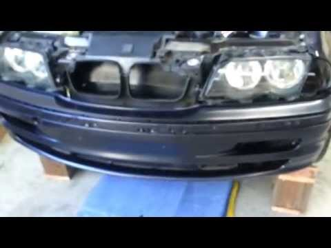 How to remove a bumper on a BMW e46 3series