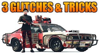 GTA 5 Online - 3 NEW GLITCHES & TRICKS! (Store ANY Vehicle, Drive inside MOC,  & No Cops Glitch)Twitter: https://twitter.com/ChaoticRavengerInstagram: https://www.instagram.com/imjustchaotic/Facebook: http://www.facebook.com/ChaoticRavengerYouTube: http://www.youtube.com/oChaoticRavengerSnapchat: imjustchaoticMy Custom PC Specs: http://www.dinopc.com/shop/pc/4K-VR-Ready-PCs-Battlebox-c244.htmDinoPC: http://www.dinopc.com/