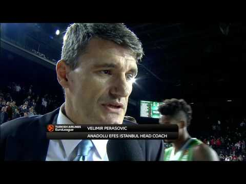 Post-game interview: Coach Perasovic, Anadolu Efes Istanbul