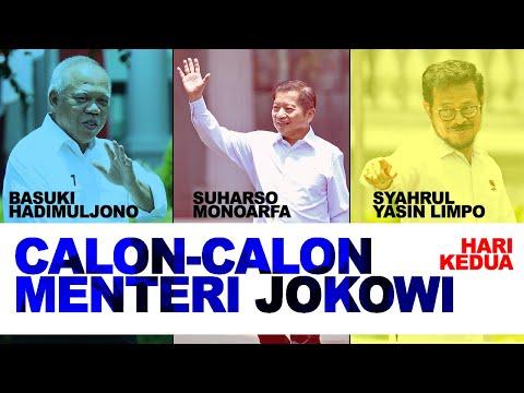 Hari Kedua Perkenalan Calon Menteri Jokowi, Siapa Lagi yang Datang ke Istana? - Breaking iNews 22/10