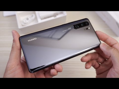 Huawei P30 Pro - Unboxing!