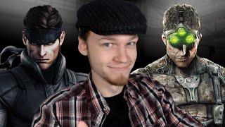 Let's Watch DEATH BATTLE | Solid Snake VS Sam Fisher