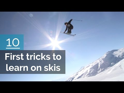 Lær deg 10 triks på ski