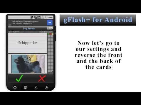 Video of gFlash+ Flashcards & Tests