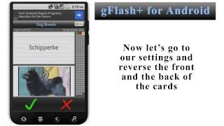 gFlash+ Flashcards & Tests YouTube video