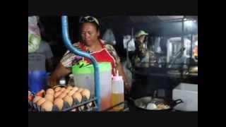Famous Thai Halal Street Food Along Ao Nang, Krabi, Thailand