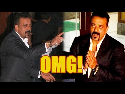 What Made Sanjay Dutt Abuse And Then Fold His Hand